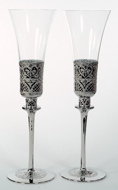 Сватбени чаши K&Q