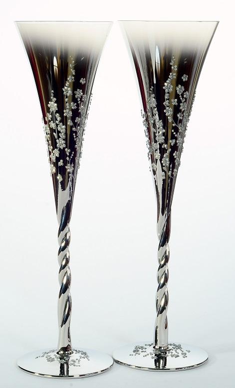 Сватбени чаши Flowers