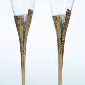 Сватбени чаши Gold Shine