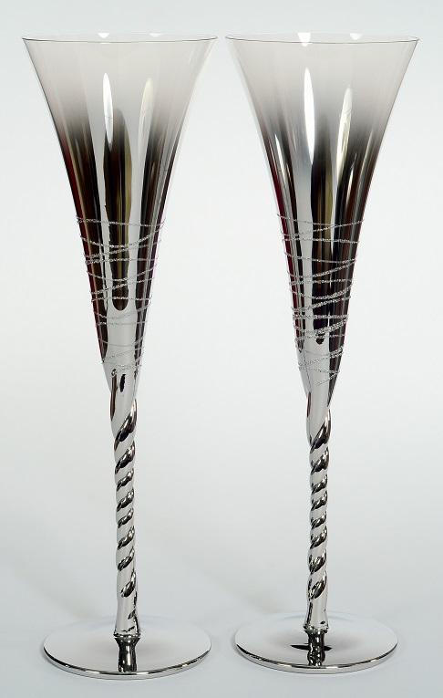 Сватбени чаши Silver Line