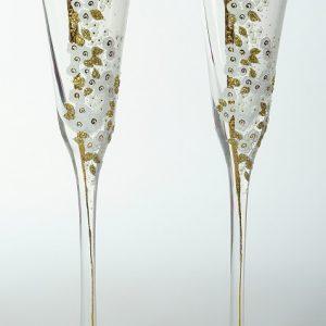 "Луксозни ритуални чаши""Golden Rose"""