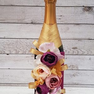 """Сватбено шампанско """"Злато и вишна"""""""