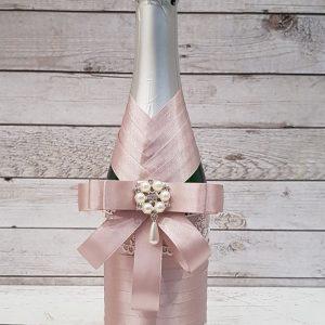 """Сватбено шампанско """"Винтидж роза"""""""