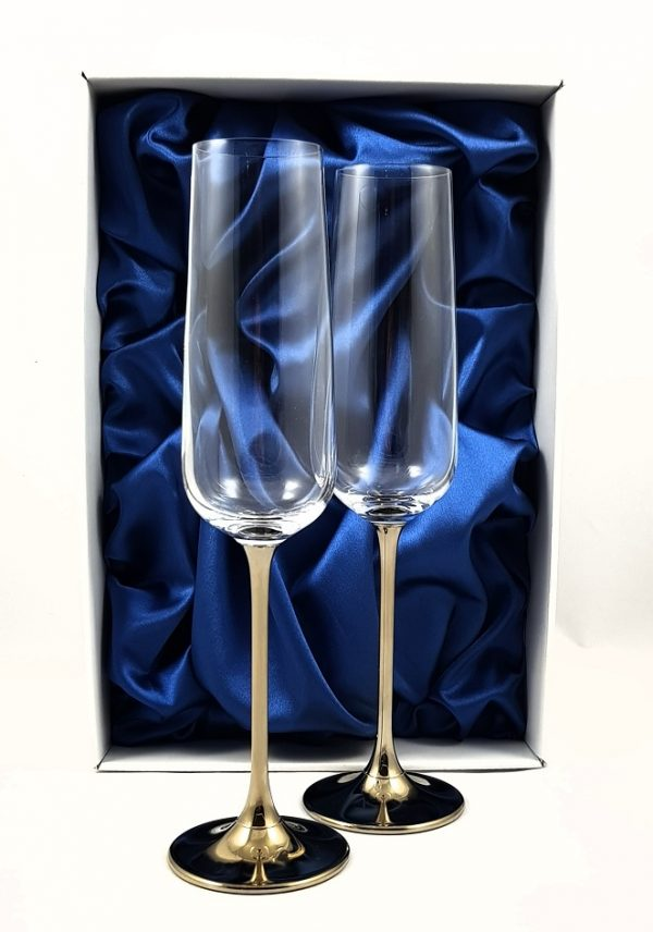 """Метализирани ритуални чаши""""Crystal"""""""