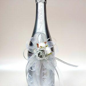 """Сватбено шампанско """"Сребро и блясък"""""""