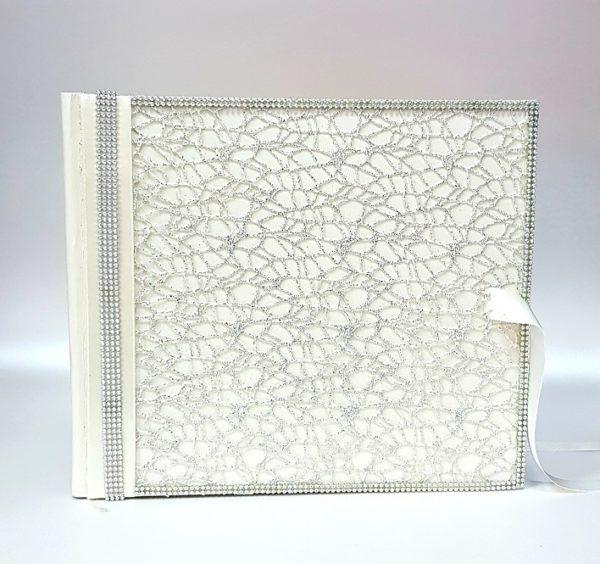 """Сватбена книга за пожелания """"Екрю и кристали"""""""