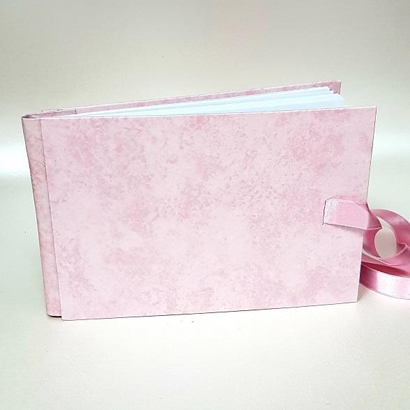 """Сватбена книга за пожелания в """"Розово"""""""